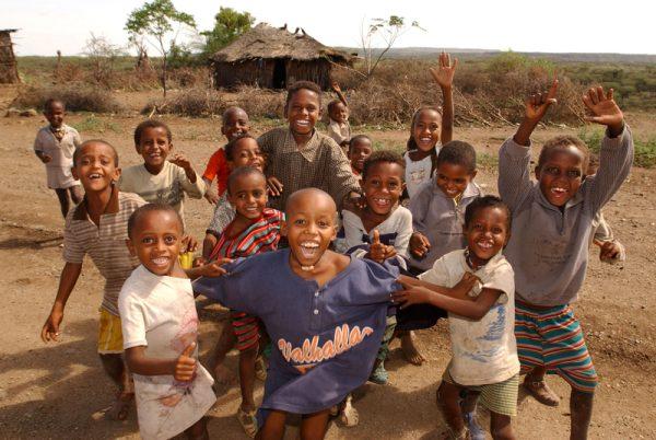 Эфиопская детвора