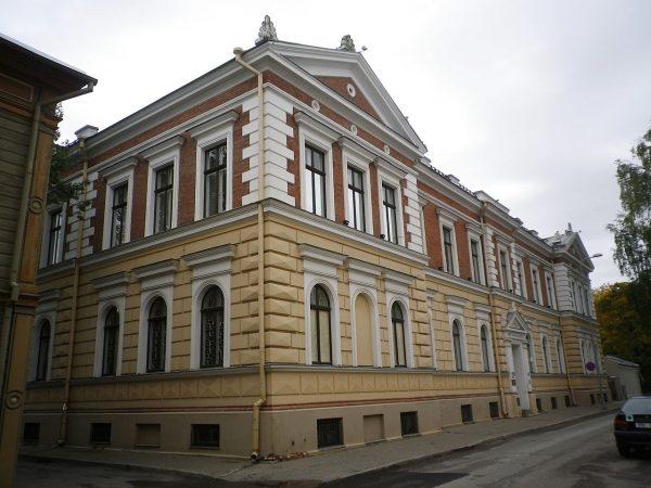 Эстонский национальный музей в городе Тарту