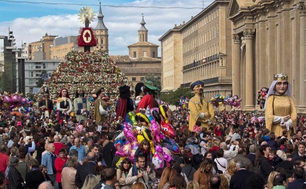Фестиваль Пилар в Сарагосе