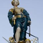Фонтан Gerechtigkeitsbrunnen в Берне
