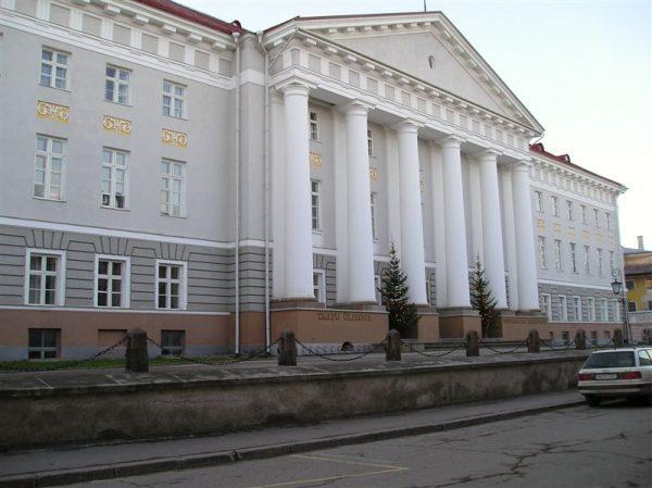 Главный корпус Тартуского университета