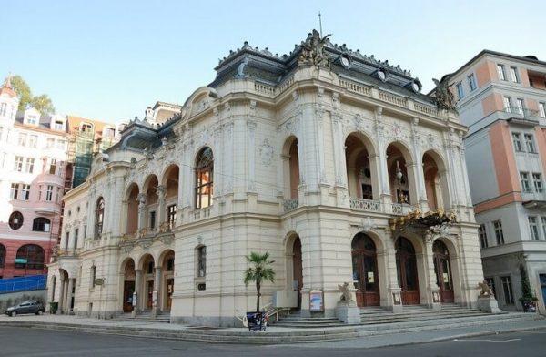 Городской театр в Карловых Варах