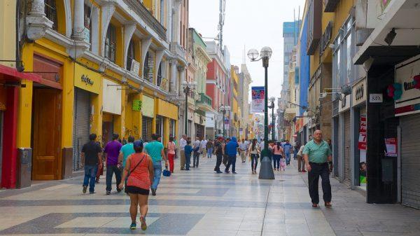Хирон-де-да-Унион — главная «артерия» Лимы