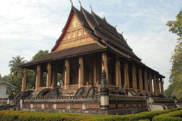 Храм Пхакео в столице Лаоса