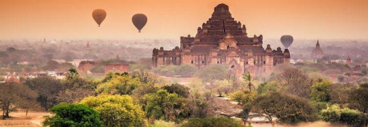 Храмы в Мьянме