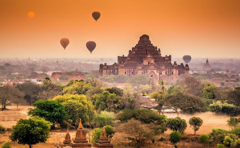 Мьянма – страна тысячи пагод