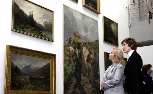 Экспозиция музея искусств Берна