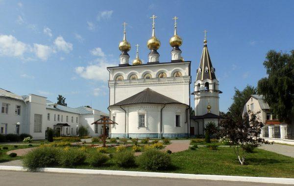 Комплекс Фёдоровского монастыря в Городце