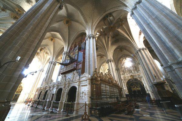 Кафедральный собор Сан-Сальвадор в Сарагосе изнутри
