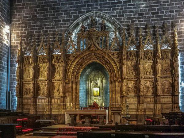 Священный Грааль в Кафедральном соборе Успения Богородицы в Валенсии