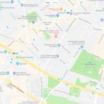 Карта 15 округа Парижа