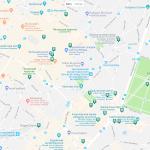 Карта центра Брюсселя