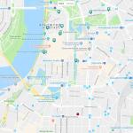 Карта центра Дюссельдорфа