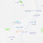 Карта центра города Дыре-Дауа