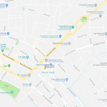 Карта центра города Вьентьян