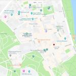 Карта центра Тарту