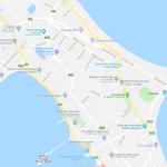 Карта центра Трикомали