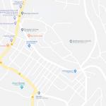 Карта центральной части города Дэссе