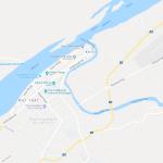 Карта центральной части города Луангпхабанг
