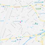 Карта части Брюсселя