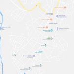 Карта города Гондэр в Эфиопии