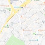 Карта одного из районов Штутгарта