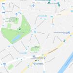 Карта окраины столицы Бельгии