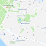Карта окрестностей Тарту