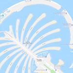 Карта островов Пальмы