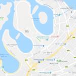 Карта пляжных районов Дубая