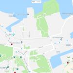 Карта прибрежной зоны Таллина