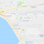 Карта расположения аэропорта Таллина