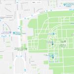 Карта расположения большого парка в Пекине