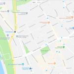 Карта расположения парка в Дюссельдорфе