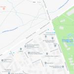 Карта расположения зоопарка Ганновера