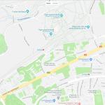 Карта расположения зоопарка Мадрида