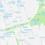 Карта расположения зоопарка в Баку