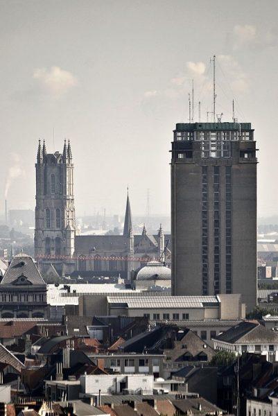 Книжная башня в Генте
