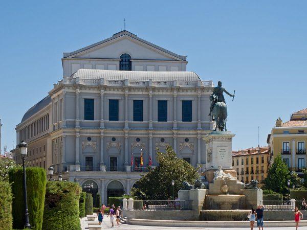 Королевский оперный театр в Мадриде
