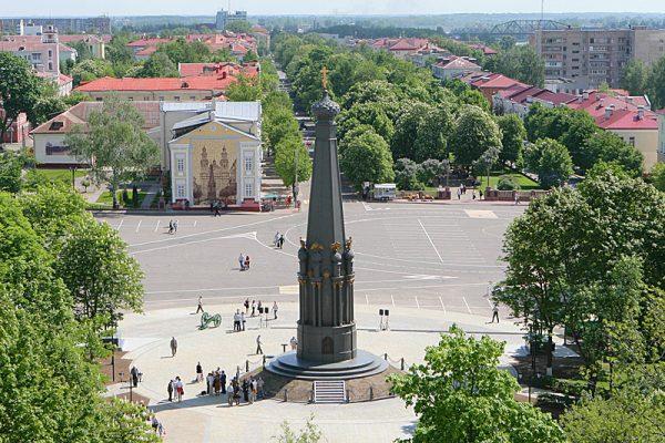 Памятник героям Отечественной войны 1812 года в Полоцке