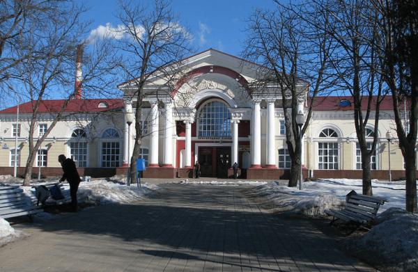 Железнодорожный вокзал Полоцка