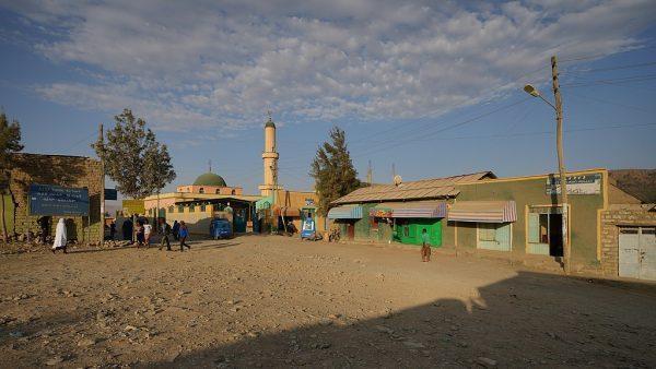 Мечеть в городе Мэкэле