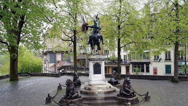 Мемориальный комплекс Рудольфу фон Эрлаху в Берне