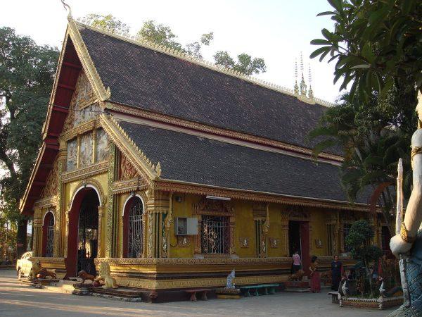 Монастырь Ват Си Мыанг во Вьентьяне