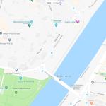 Мост Баркета на карте Севильи