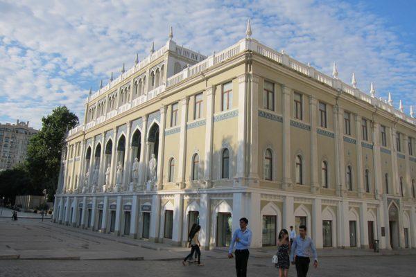 Музей азербайджанской литературы имени Низами Гянджеви в Баку