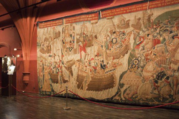 Музей гобеленов в соборе Сан-Сальвадор в Сарагосе