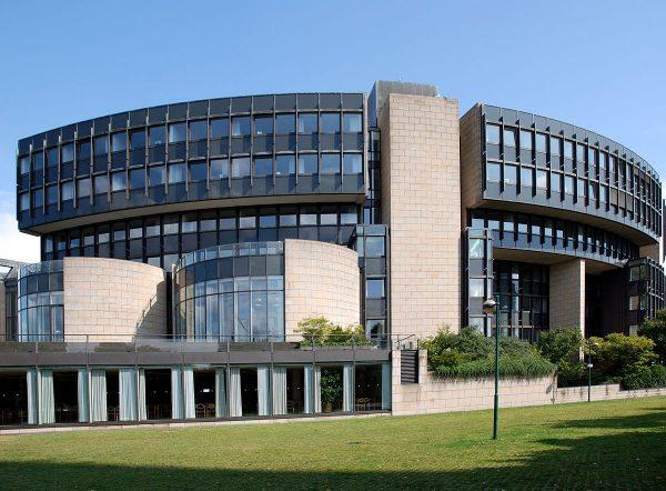 Здание ландтага земли Северный Рейн-Вестфалия в Дюссельдорфе