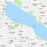 Небольшой парк на карте Пекина