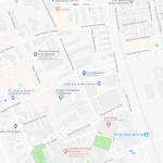 Небольшой парк Севильи на карте